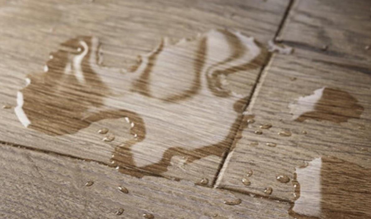 laminate floor water damage